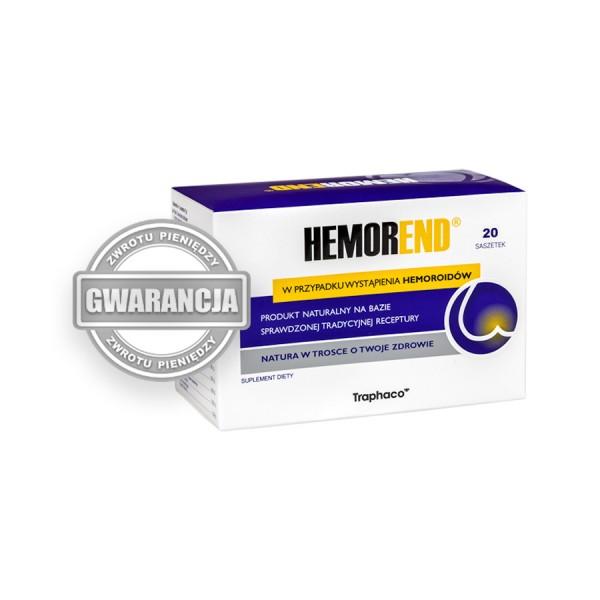 Hemorend® 1 op. 20  PROMOCJA !  KURACJA 7 DNI !