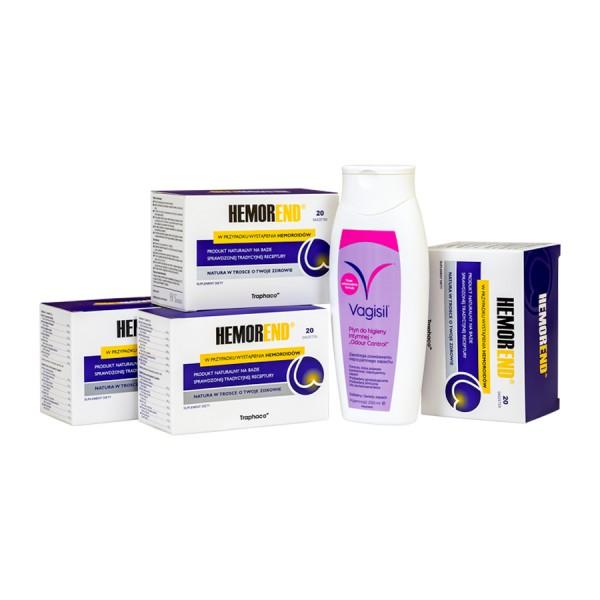 Hemorend® pakiet 3 + 1