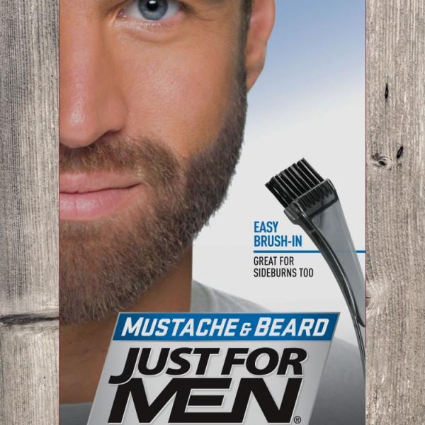 JFM Żel do wąsów i brody / średni brąz M35