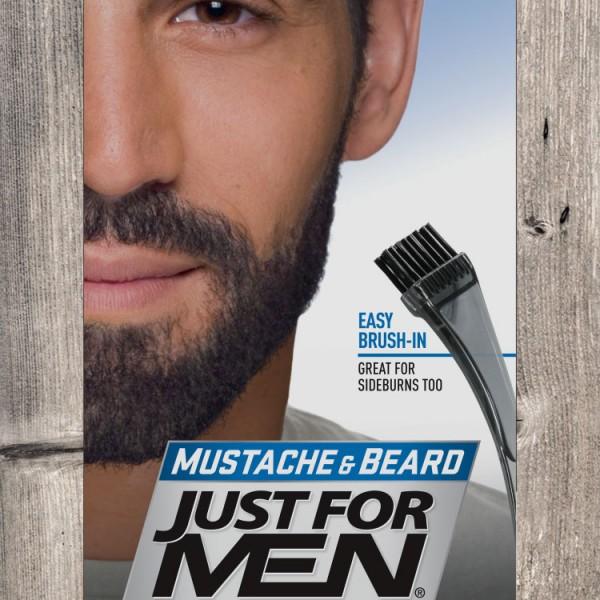JFM Żel do wąsów i brody / naturalna czerń M55