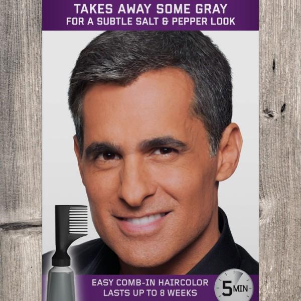 JFM Odsiwiacz Touch of Grey / naturalna czerń T55